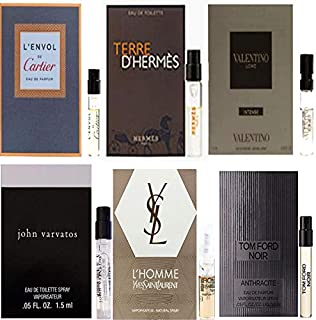 男性用 Eau de Parfum (Eau de Toilette) For Men Samples 6/set [海外直送品] [並行輸入品]