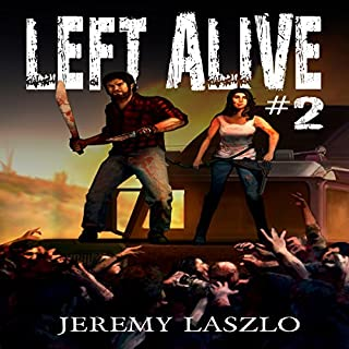Left Alive #2 audiobook cover art