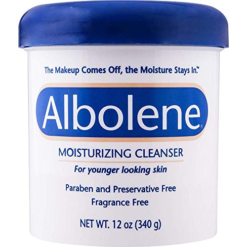 Albolene Moisturizing Cleanser, 12Oz