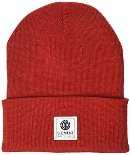 Element Dusk - Berretto da Uomo Berretto, Uomo, Pompeian Red, One Size
