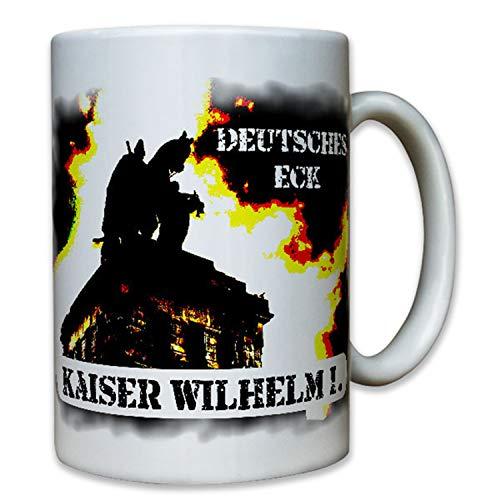 Copytec Kaiser Wilhelm 1Deutsches ECK Kaisers Wilhelm Monumento I Monumen Tales Jinete...