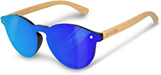 Navaris gafas de sol polarizadas UV400 - Lentes de madera y