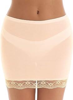 sottogonna sottogonna sottogonna da donna a mezza aderenza anti-aderenza OCTOPUSIR sottogonna mezza slip elasticizzata in vita sottogonna da donna