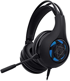 Gaming Headset, 7.1 Surround Sound Gaming Headphones, Noise Cancelling Over Ear Headphones with Mic, LED Light, Bass Surround, Soft Memory Earmuffs for PS4, PC, Xbox One, Laptop, Mac, iPad, Nintendo S