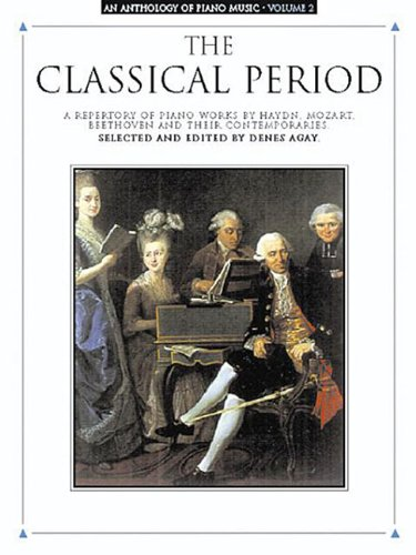 Anthology Of Piano Music Volume 2: The Classical Period (Album): Noten, Sammelband für Klavier