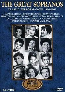 The Great Sopranos  - Classic Performances 1950-1963 [USA] [DVD]