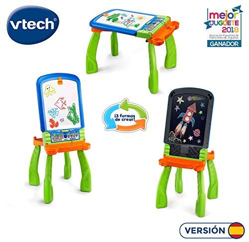 VTech DigiART - Caballete PequeARTista 3 en 1, pizarra elect