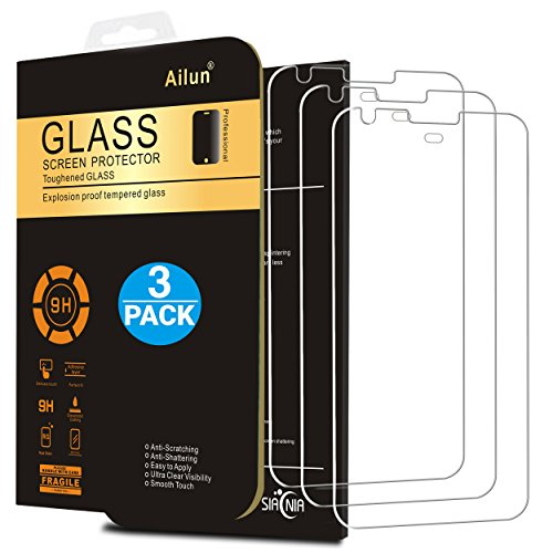 Ailun Screen Protector for Google Pixel XL 5.5Inch 3Pack Tempered Glass 9H Hardness Ultra Clear Anti-Scratch Case Friendly Siania Retail Package