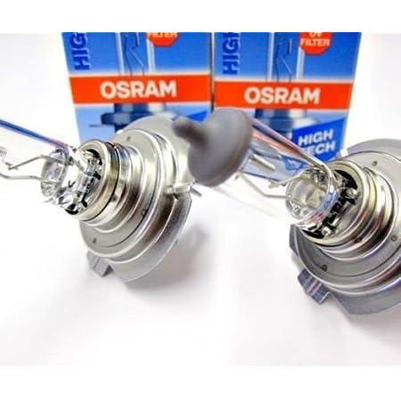 2 X Osram Hightech H7 12v 55w Px26d Halogen Scheinwerferlampen Lampen Original 2 Stück 64210 Auto Lampen Birnen Leuchten Auto