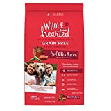 WholeHearted Grain Free All Life Stages Beef & Pea Formula Dry Dog...