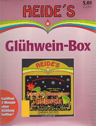 Glühwein Schwarze Johannisbeere 9,5% Alc, 5 Liter