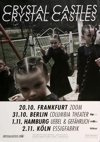 Crystal Castles - Amnesty, Tour 2016 » Konzertplakat/Premium Poster | Live Konzert Veranstaltung | DIN A1 «