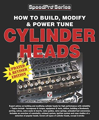 How to Build, Modify & Power Tune Cylinder Heads: Updated & Revised Edition (Speedpro Series)