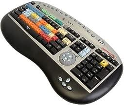 Bella Pro Series 3.0 Editing Key Board for Adobe Premiere Pro, with Built-in Jog / Shuttle Controller, USB Interface, Mac & Windows Hybrid.