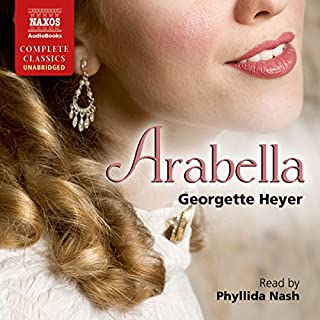Arabella                   By:                                                                                                                                 Georgette Heyer                               Narrated by:                                                                                                                                 Phyllida Nash                      Length: 10 hrs and 44 mins     64 ratings     Overall 4.8