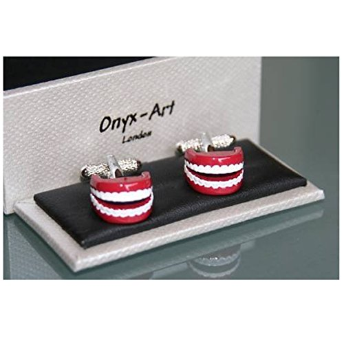 Boutons de manchette pour homme en forme de dents Design