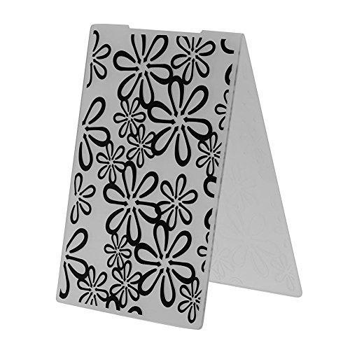 Broadroot plastic embossing mappen sjabloon voor doe-het-zelf kaart maken decoratie benodigdheden Scrapbook papier Craft Gift (Flowers)
