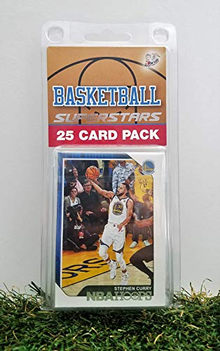 Golden State Warriors- (25) Card Pack NBA Basketball Different Warrior Superstars Starter Kit! Comes in Souvenir Case! Great Mix of Modern & Vintage Players for the Super Warriors Fan! By 3bros