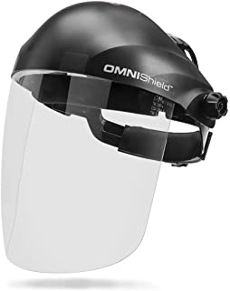 Lincoln Electric OMNIShield Professional Face Shield - High Density Clear Lens - Premium Headgear - K3750-1