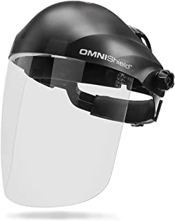 Lincoln Electric OMNIShield Professional Face Shield | High Density Clear Lens | Premium Headgear | K3750-1