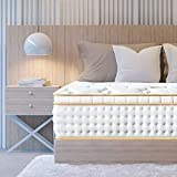 BedStory King Mattress, 12 Inch Gel Memory Foam Hybrid Mattress King...