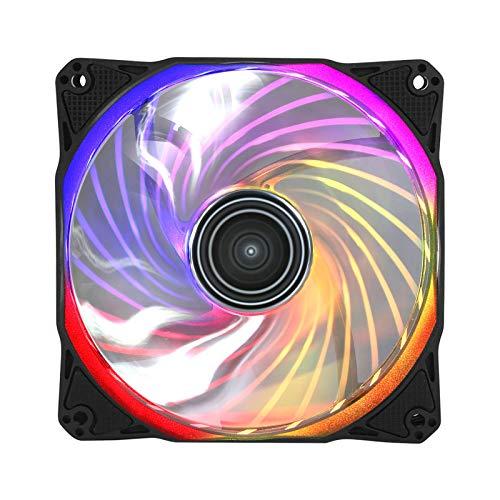 Antec Rainbow 120 RGB 120 mm Illuminated Chassis Fan -...