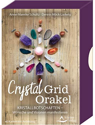 Crystal-Grid-Orakel – Kristallbotschaften – Wünsche und Visionen manifestieren: - 40 Karten mit Anleitung