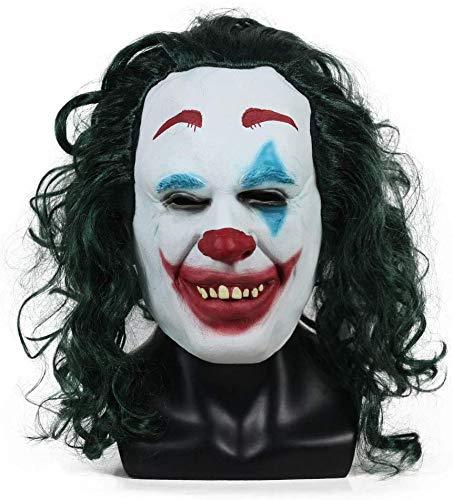 FXNB Accesorios De Vestuario De Joker Mask Movie Accesorios