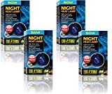 Exo Terra Night-Glo Moonlight A19 Lamp, 50-Watt (4 Pack)