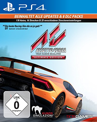 Assetto Corsa Ultimate Edition - PlayStation 4 [Importación alemana]
