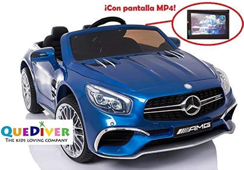 QUEDIVER Mercedes SL65 mit MP4 blau metallic