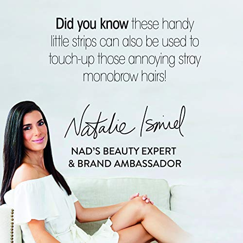 Nad's Facial Wax Strips (Pack of 2)...