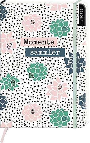 myNOTES Notizbuch A5: Momentesammler - notebook medium, dotted - für Träume, Pläne und Ideen / ideal als Bullet Journal oder Tagebuch