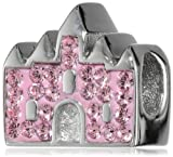 Disney Stainless Steel Crystal Castle