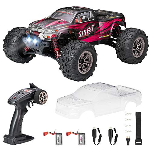 HobbyRCCars,FLYHAL9135ProRemoteControlCarRCCarsforAdults30+MPH45km/h4WDProfessional IPX4 Waterproof 1:16 ScaleSuperFastRCCars MosterRCTrucks4x4OffRoad2Batteries