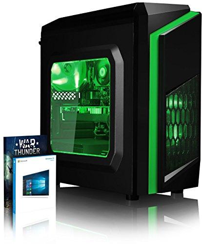 Vibox FX 151 Desktop PC da Gaming, Processore Intel i7 7700K, 4.2 GHz, HDD da 1 TB, 16 GB di RAM, Scheda Grafica nVidia GeForce GTX 1080 Ti, Verde