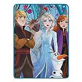 Northwest Disney Frozen 2 Fall Foliage Micro Raschel Throw Blanket