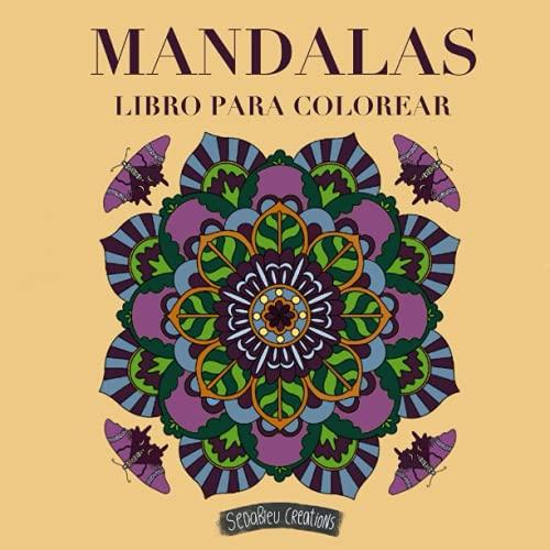 Mandalas. Libro para colorear.: 50 cómodos mandalas a una sola cara. Pasatiempos que invitan a la relajación. Antiestrés. Colorea, calma la mente y ... y creatividad. Ideas para regalar.