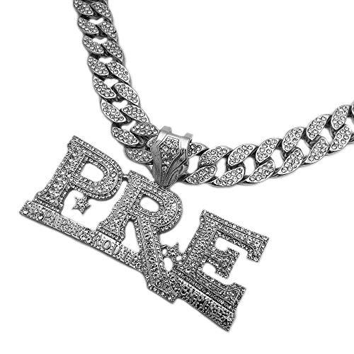 BLINGFACTORY Hip Hop Young Dolph PRE Pendant & 18