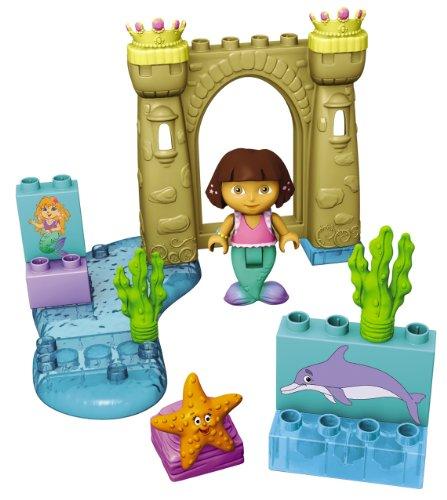 Mega Bloks - 3031 - Set de construcción  - Aventura de Dora Sirena - 13 Piezas