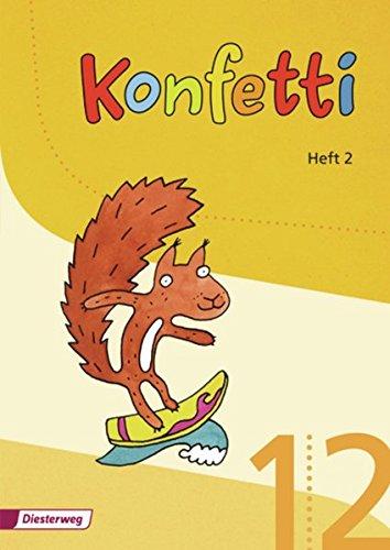Konfetti - Ausgabe 2013: Heft 2: inkl. Abschreibkarten