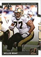 2017 Donruss #101 Willie Roaf New Orleans Saints Football Card