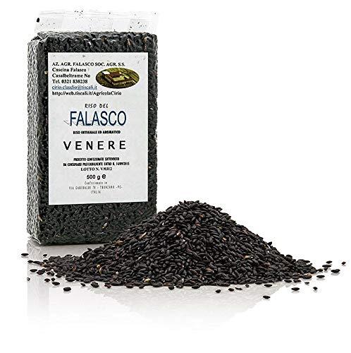 Cirio Venere, schwarzer Natur-Rundkornreis, Piemont, bestens für Risotto geeignet, 500g