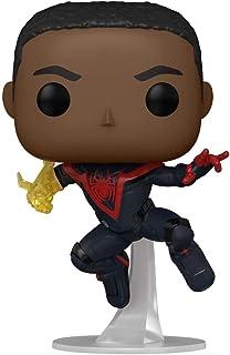 Funko Pop! Marvel Spider Man Gamer Miles Morales Unmasked Chase Exclusive