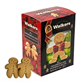 Walkers Shortbread Mini Gingerbread Men Shortbread Cookies, 5.3 Ounce Box (Pack of 10)