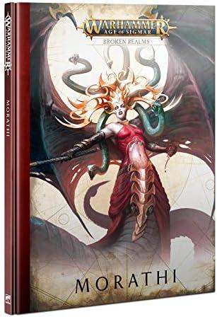 Games Workshop Warhammer Age of Sigmar Broken Realms Morathi Hardback Book product image