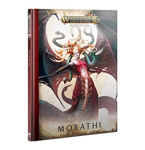 Games Workshop Warhammer Age of Sigmar Broken Realms Morathi Hardback Book