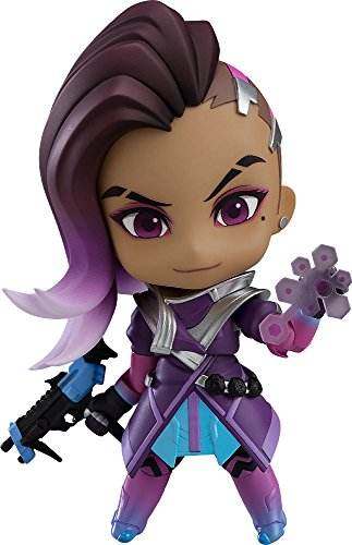 Good Smile Overwatch: Sombra Classic Skin Edition Nendoroid Action Figure, One-Size, Model Number: APR188859