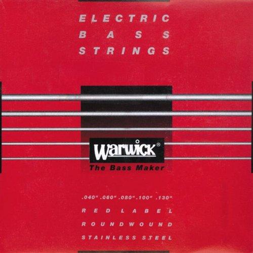Warwick redlabel 040–130, traje cuerdas Bordonera para bajo eléctrico (5cuerdas