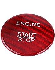 Cubierta del botón de arranque del motor de 36mm, Accesorios de la etiqueta engomada del botón arranque